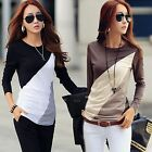 Fashion Blouse Cotton Blouse Tops T-Shirt Long Sleeve Loose Women Casual New