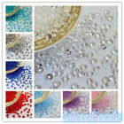 10000x 4.5mm 1/3ct Acrylic Diamond Confetti Wedding Party Table Scatter Crystals