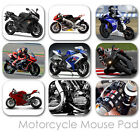 MOTORCYCLE CUSTOM MOUSE PAD SPORT BIKE FRIENDS PERSONALIZED MOUSEPAD  (MM-01)