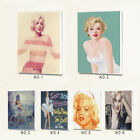 Framed Sexy Nude Marilyn Monroe Wall Art Home Deco Oil Painting Canvas Art Print