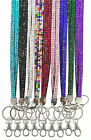New Breakaway Bling Lanyard Rhinestone Diamante Crystal Neck ID Holder Free Post