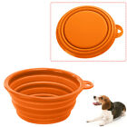 Fashion Dog Cat Pet Collapsible Silicone Water Travel Feeding Bowl