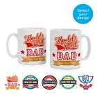 Personalised Name Fathers Day 2019 Coffee Tea Mug Presents Gifts for Dad Grandad