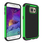 Samsung Galaxy S6 Heavy Duty Dual Layer Shockproof Hybrid Rugged Case Cover