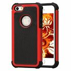 iPhone 5/5S Heavy Duty Dual Layer Shockproof Hybrid Rugged Case Cover