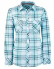 Marisota Mint Green White & Black Long Sleeve Checked Shirt Plus Size 12 to 32