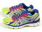 Asics GEL-Oberon 9 Flash Yellow/White/Deep Blue Sportstyle Running T591N-0701