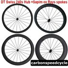 CSC U shape 25mm Width 38/50/60/88mm carbon bike wheelset  240s hub+Sapim spokes