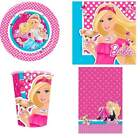 Barbie party tableware plates cups napkins tablecover licensed children's