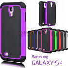 samsung galaxy 4 cover - For Samsung Galaxy S4 Shockproof Hybrid Rugged Rubber Hard Shell Case Cover
