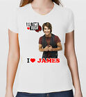 BIG TIME RUSH T-SHIRT GRUPPO BOY BAND I LOVE JAMES TSHIRT DONNA GIRL MAGLIETTA