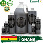Liquid African Black Soap Raw from Ghana 100% Pure and Natural 1 oz to Gallon