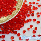 4.5mm Red Acrylic Diamond Confetti Wedding Party Decoration Table Scatters