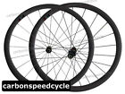 Carbon Road Cycling Wheel 23mm Width 38mm Clincher Sapim Spokes Racing Wheelset