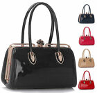 Ladies Handbags Womens Designer Bags Celebrity Faux Leather Patent Tote Bag