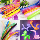 20-100X Magic Twisting Long Latex Balloons Birthday Wedding Party Decor Toy Gift
