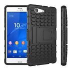 Sony Xperia Z3 Compact Dual Layer Shockproof Cover Hybrid Rugged Case