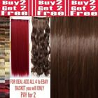 uk seller clip in hair extensions one piece synthetic 18 inch 24 inch 28 inch
