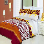 3pc Mission Printed Egyptian Cotton Duvet Cover Bedding Set with Shams