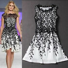 Summer Womens Lace Crochet Formal Short Prom Party Cocktail Clubwear Tops Dress