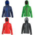 Womens Result Core Microfleece Detachable Hood Fitted Waist Jacket Size XS-2XL