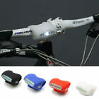 Bike Cycling 7 LED Silicone Frog Head Front Safety Warning Light 4 Color