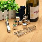 Whiskey Drinks Cooler Stainless Steel Ice Stones Cube Freezer Glacier Chillers