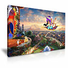 DISNEY Aladdin Canvas Framed Print Kids Room Deco ~ More Size