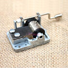 18 Note Hand Cranked Musical Mechanism Movement Many Songs for DIY Music Box Toy