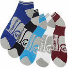 Mens Trainer Socks Crosshatch Gym Sport 5 Pair Assorted Multipack UK Size 6-12