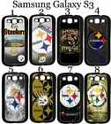 Pittsburgh Steelers Samsung Galaxy s3 Case Hard Silicone Case ##
