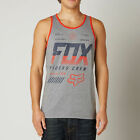NEW FOX RACING ADULT MENS ESCAPED HEATHER GRAPH TANK TOP SEEVELESS JERSEY SHIRT