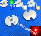 Cree XP-E XPE 1W~3W Cool Warm White Red Royal Blue Green LED Lamp light 16mm PCB