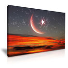 ISLAMIC Sky Religion Art Canvas Wall Picture Print ~ More Size