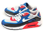 Nike Air Max Lunar90 C3.0 Light Base Grey/White-Military Blue Running 631744-004