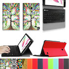 For LG G Pad F 8.0 V495/V496 Tablet Slim Case Cover Removable Bluetooth Keyboard