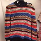 ZARA NEW COLLECTION 2015. MULTICOLOURED SWEATER JERSEY WITH STRIPES. BLOGGERS.