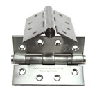 "4"" Fire Rated Ball Bearing Door Butt Hinges Stainless Steel Grade 13 BS EN1935"