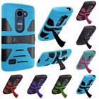 For LG Risio Tribute 2 LS665 Leon C40 Power L22C Hybrid U-Stand Cover Case