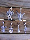 Choose a Tibetan Silver Guardian Angel From Our Range of Clip On Charms