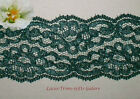 "2 Yd Lace Trim Teal Vintage 2-1/4"" Embroidered M128V Added Items Ship No Charge"