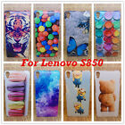 Lenovo S90 S850 Phone Case Hard PC Cover Cartoon Minions bear tiger Back Shell