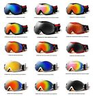 XLINE 6PP005A Goggles SKI SNOWBOARD Snow OVERLENS Wide Mirrored Big UV Snowstorm