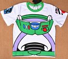 3-7 BUZZ Toy Story Boys Kids Cotton Summer Short Top T-shirt Tee Costume Outfit