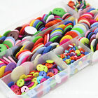 Sewing Craft Clothing Accessories Scrapbooking Flatback Round Button 2 Holes