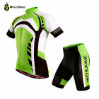New Men Riding Short Sleeve Jersey Shorts Kits Cycling Bike Shirt Pants Set Cool
