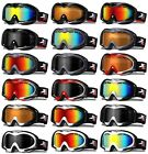 XLINE R8055 Goggles SKI SNOWBOARD Snow Mirrored UV Double Mens Large Big
