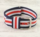 NATO RAF military Cloth keeper nylon watch strap for Daniel Wellington and other