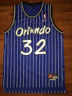 NBA Orlando Magic Shaquille O'Neal Throwback Jersey Sewn/Stitched NWT