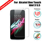Anti-Scratch Tempered Glass Screen Guard Film For Alcatel One Touch Idol 3 5.5